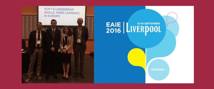 Lead3.0 Academy went to Liverpool @ EAIE 2016, Europe's largest higher education conference
